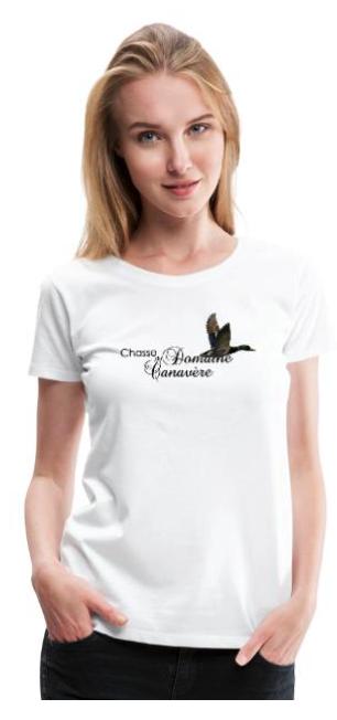 T-shirt officiel et cadeaux Chasse du Domaine de Canavere